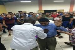Re. Dr. Mfon Archibong Ministering in El-Salvador