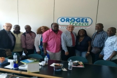 Delegation visiting Fruits processing company in Italy