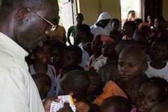 Dr. Mfon Archibong coordinating medical mission to poorest of the poor villages
